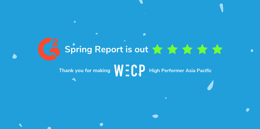 WeCP is voted as high performer in G2 Spring Reports 2021