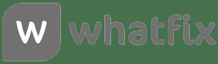 Whatfix logo WeCP (We Create Problems)